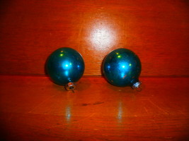 Blue ,  Shiny Brite Christmas Ornaments - $8.00