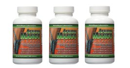 African Mango Cleanse Weight Loss Detox 60 Capsules Per Bottles (3 Bottles) - $22.85