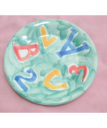"""Ceramica San Marciano hand painted Italy Alpha salad plate 8"""" - $22.99"""