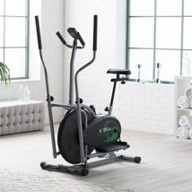 Upright Exercise Bike Elliptical Fitness Machine Equipment Cardio Workou... - $224.98