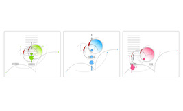 """Variation of Astronomy_3 Panels"" Abstract Digital Drawing JPEG Image Do... - $15.76"