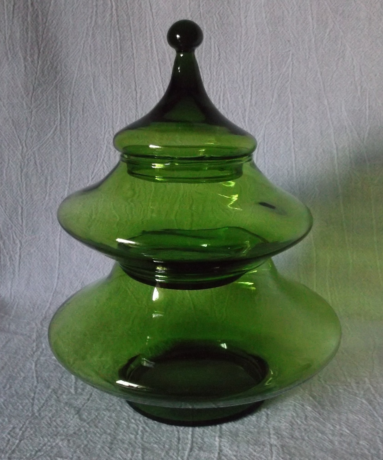 Empoli GREEN Candy Jar Stacking Christmas and 10 similar items