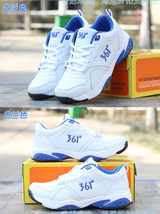 pa013 Spell color sports shoes for lady, size 36-40, white/blue - $39.90