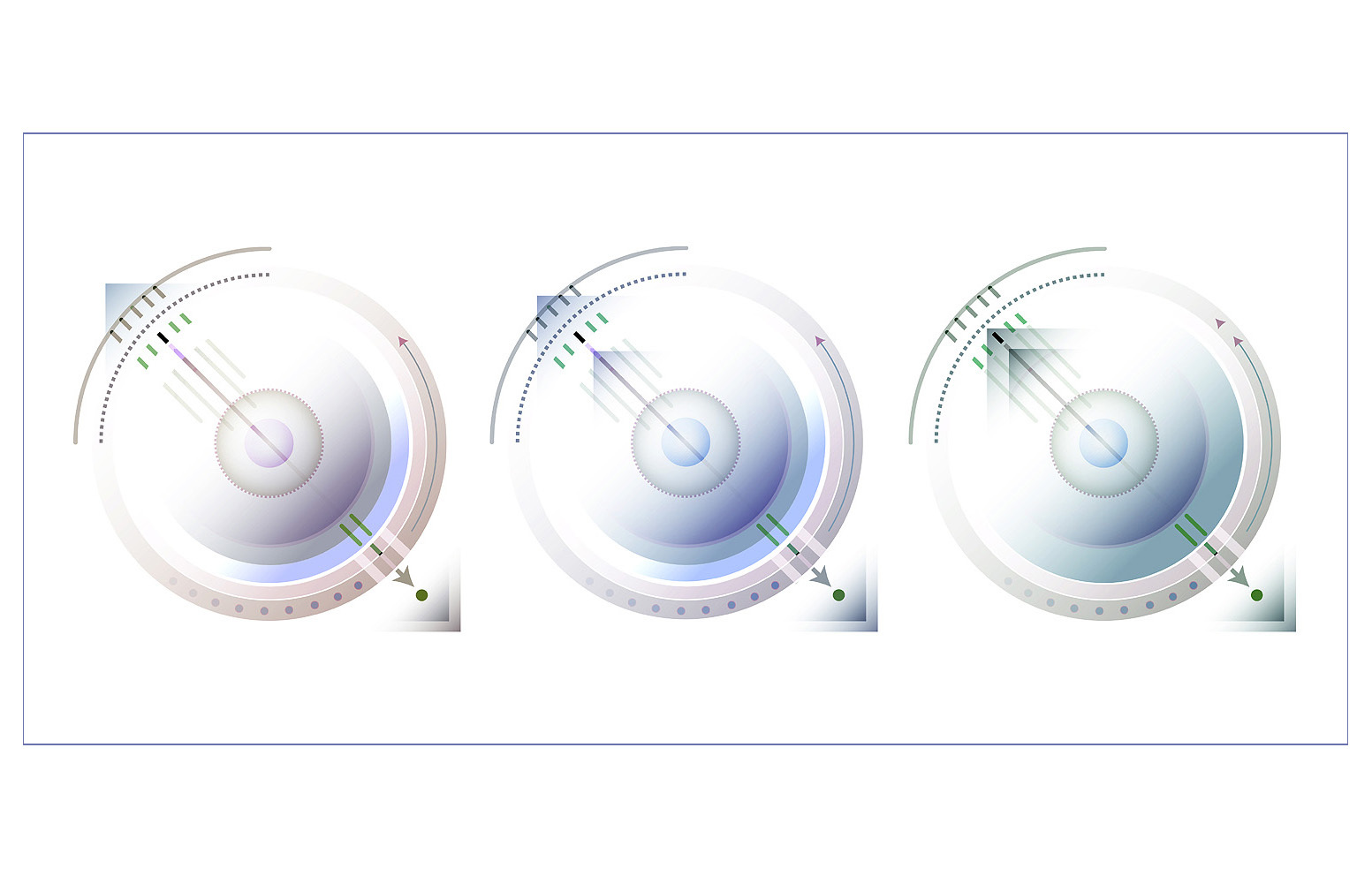 *Circles_Squares_lines_Gradient* Digital Illustration JPEG Image Download - $3.94
