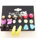 9 Pieces of Stud Earring Set - $9.79
