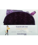 Travel Smart Travel Gift Set:Cosmetic bag, Passport Cover, Luggage Tag a... - $14.69
