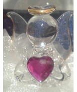 Lovinbox Hand Sculpted Glass and 24 Kt Gold  Figurines in Gift Box. Various - $14.99