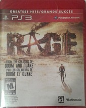 Rage: Greatest Hits. Playstation3. Sealed.Game Disc In English, French, Spanish. - $13.71