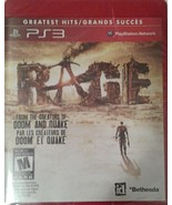 Rage: Greatest Hits. Playstation3. Sealed.Game Disc In English, French, ... - $13.71