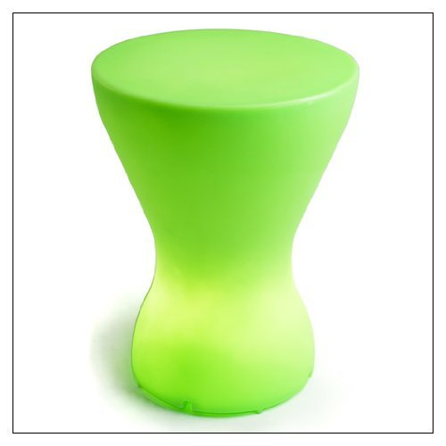 OFFI Co. Bongo - Lamp/Stool, color = Misty Green