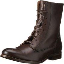 Frye Women's Melissa Lace Short Dark Grey Smooth Vintage Leather Boot 5.5 B (M) - $119.00