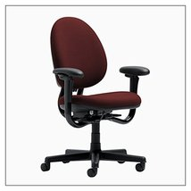 Steelcase Criterion High-Back Work Chair by Steelcase, color = Burgundy - £789.16 GBP