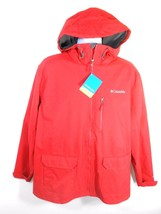 COLUMBIA VERTICAL QUEST EXS MEN'S RED OMNI-SHIELD JACKET SZ XL, #XM3973-675 - $79.20