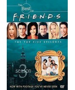 The Best of Friends Season 3 (DVD, 2003) The Top Five Episodes UPC 08539... - $9.89