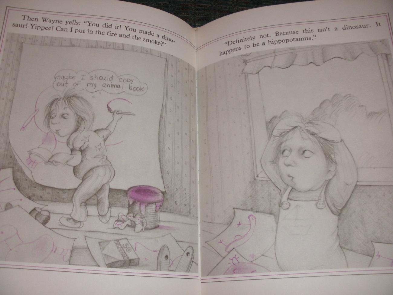 Jungle Day children's book by Barbara Bottner