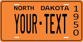 North Dakota 1950 Personalized Cutoms Novelty Tag Vehicle Car Auto Licen... - $16.75