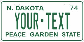 North Dakota 1974 Personalized Cutoms Novelty Tag Vehicle Car Auto Licen... - $16.75