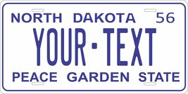 North Dakota 1956 Personalized Cutoms Novelty Tag Vehicle Car Auto Licen... - $16.75