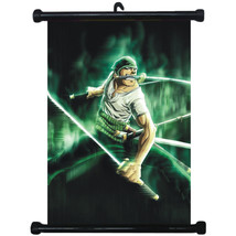 sp211573 One Piece Zoro Japan Anime Home D?cor Wall Scroll Poster 21 x 30cm - $3.99