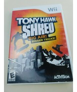 Tony Hawk: Shred (Nintendo Wii, 2010) With Instructions GAME ONLY - $3.95
