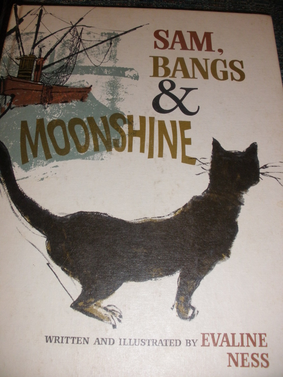 SAm, Bangs and Moonshine children's book by Evaline Ness