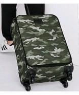 New Victoria's Secret PINK Carry On Luggage Bag Camo Print Wheelie Rolli... - $119.95