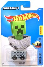 Hot Wheels, 2016 HW RideOns, Minecraft Minecart. - $1.99