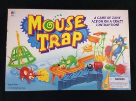 Mouse Trap Board Game Complete 2005 Milton Bradley Needs Rubber Bands - $28.04