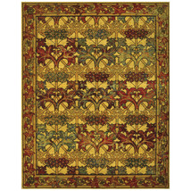 "8x10 (7'9"" x 9'9"") Nourison Timeless Arts & Crafts Mission Style Wool Ar... - $1,889.00"