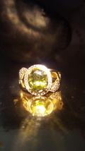 love spell, Fairy ring haunted ring, witch owned ring, fae jewelry - $157.00