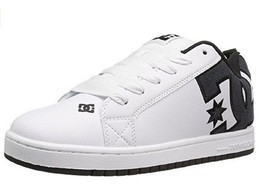 Mens DC (White Smooth) Court Graffik S Shoes - $65.00