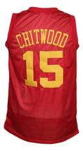 Jimmy Chitwood Hickory Hoosiers Movie Basketball Jersey New Sewn Red Any Size image 4