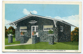 The Coal House Chamber of Commerce Middlesboro Kentucky postcard - $6.44