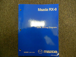 2006 Mazda RX-8 RX8 Electrical Wiring Diagram Troubleshooting Manual EWD EVTM - $135.76