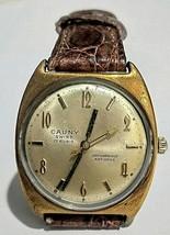 CAUNY Prima Vintage Men's Watch Mechanic (Manual) ST 96 waterproof 33 mm SWISS  - $89.40
