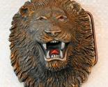 Lion belt buckle  2  thumb155 crop