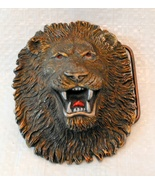 Buckle 3D Lion head, Belt buckle, by Dragon Designs, Tanside LTD England... - $19.99
