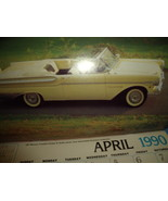 1990 Classic Car Calendar from Original Automobile Literature in NY - $5.00