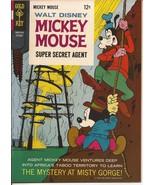 Gold Key Walt Disney Mickey Mouse #109 Goofy Super Secret Agent Junior W... - $8.95