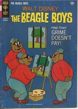 Gold Key Walt Disney The Beagle Boys #4 Action Adventure Grime Doesn't Pay - $5.95