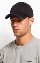 Armani Exchange AIX Perforated Logo Baseball Hat Black BNWT 100% Authentic - $44.11