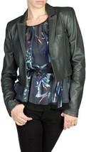 Diesel Ladies LIULAK Leather Jacket Black Size XS BNWT $620 100% Authentic - $185.00