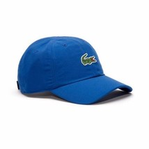 Lacoste RK2464 Sport Poly Oversized Crocodile Cap in Royal Blue BNWT Authentic - $44.11