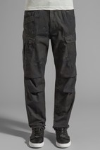 G Star Raw Rovic Camouflage Tapered Cargo Pant in Raven/Black W32/L34 $220 BNWT - $129.11