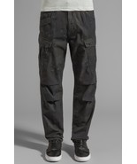 G Star Raw Rovic Camouflage Tapered Cargo Pant in Raven/Black W32/L34 $2... - $129.11