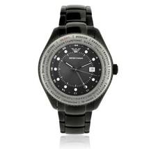 Emporio Armani Mens World Time Watch AR0587 $395 BNIB 100% Authentic Great Gift! - $214.11