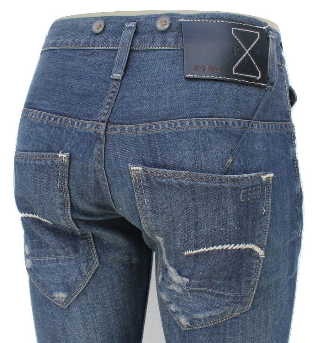 G Star Essentials RE Morris Tapered Jeans in 3D Aged Conn Denim, W32/L34 $399 - $139.95