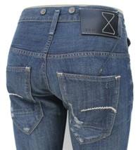 G Star Essentials RE Morris Tapered Jeans in 3D Aged Conn Denim, W32/L34... - $139.95