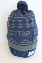 G Star Raw Women's Jaqi Beanie Hat in Imperial Blue BNWT 100% Authentic - $49.11