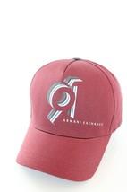 Armani Exchange AIX 91 Logo Baseball Hat in Rark Cherry BNWT 100% Authentic - $49.11